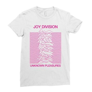 Joy Division Unknown Pleasures Ladies Fitted T-Shirt