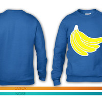 Bananas Bunch crewneck sweatshirt
