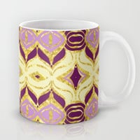 Royal Retro Mug by Lisa Argyropoulos