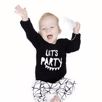 Baby Boy Let's Party Fashion Clothing Set