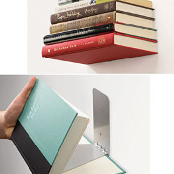 Floating Books Concealed Wall Shelf