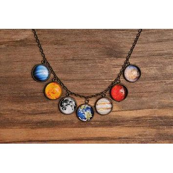Brass Galaxy Jewelry with Antique Flair