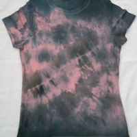 GRUNGE WOMENS CLOTHING - The Messy Grunge Rocker Womens Tshirt