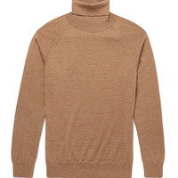 AMI - Slim-Fit Merino Wool Rollneck Sweater | MR PORTER