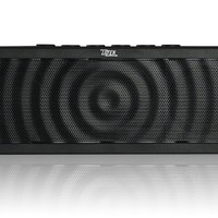 Liztek PSS-100 Portable Wireless Bluetooth Speaker with Built in Speakerphone, 8 Hour Rechargeable Battery (Black)