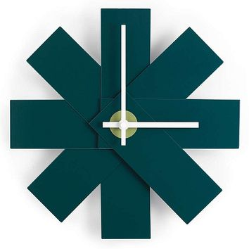 Watch Me Clock in Petrol Green by Normann Copenhagen - Pop! Gift Boutique