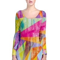 My Art is Better than your Art Sleeve Bodycon Dress Long Sleeve Bodycon Dress