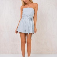 Watson Strapless Playsuit