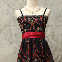 Black romance dress/ size 0-6