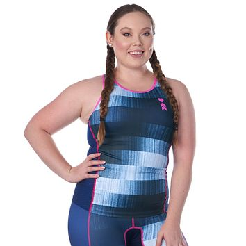 Soundcheck Women's Triathlon Tank with Shelf Bra