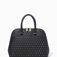 Fearless Studded Satchel | Charming Charlie