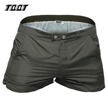 TQQT men shorts panelled cargo shorts low waist summer fitness patchwork short male bermada with pockets mayor short army 5P0644