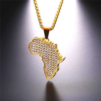 Crystal Africa Necklace