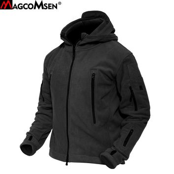 Mens Winter Warm Fleece Army Military Tactical Jacket