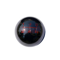 UNIVERSAL ALL UNIVERSAL ALL 310 STYLE 5 SPEED MANUAL SHIFT KNOB BLACK CHROME