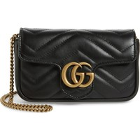 Gucci Supermini GG Marmont 2.0 Matelassé Leather Shoulder Bag | Nordstrom