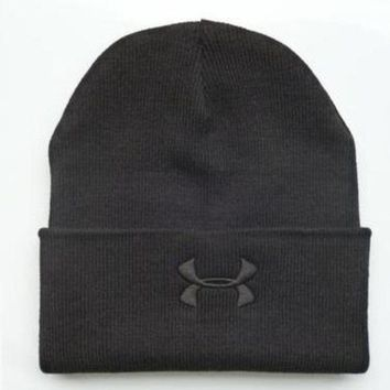 onetow One-nice? Perfect Under Armour Women Men Embroidery Knit Hat Beanie Cap Hat