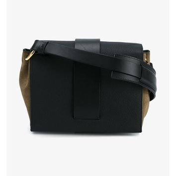 MARNI | Leather and Suede Shoulder Bag | Womenswear | Browns Fashion