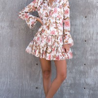 Garden Party Ruffle Dress