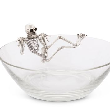Skeleton Candy Dish