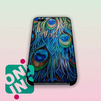 Galaxy Peacock Feather iPhone Case Cover | iPhone 4s | iPhone 5s | iPhone 5c | iPhone 6 | iPhone 6 Plus | Samsung Galaxy S3 | Samsung Galaxy S4 | Samsung Galaxy S5