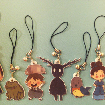 Over the Garden Wall Charms