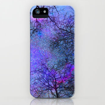 Sky dreams. Serial. Blue iPhone & iPod Case by Guido Montañés