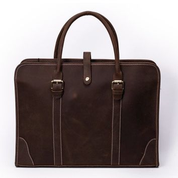 Vienna Leather Briefcase