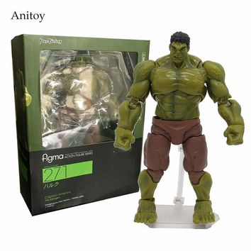 The Avengers Hulk Figma 271# 1/7 scale painted PVC Action Figure Collectible Model Toy 17cm KT1774