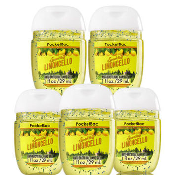 Limoncello 5-Pack PocketBac Sanitizers   Bath And Body Works