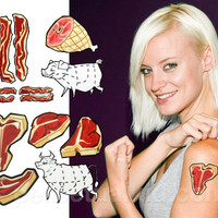 MEAT TATTOOS