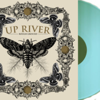 "Anchors Aweigh Records — UP RIVER "" Rough Ground"" 7 inch Pistachio LTD 200"