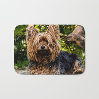 Yorkshire Terrier Bath Mat by Knm Designs