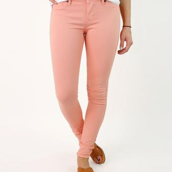 Whitney Skinny Color Pants