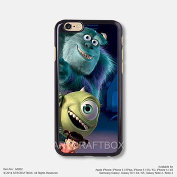Monsters Inc Doors Disney iPhone Case Black Hard case 802