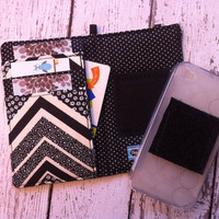 Black and ivory chevron iPhone 3 4 4S 5 iPod Touch by BeulahVida