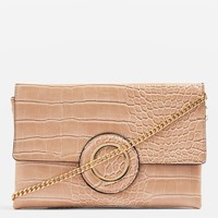 Cooper Crocodile Effect Clutch Bag - New In Fashion - New In