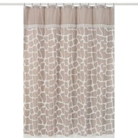 Sweet Jojo Designs Giraffe Shower Curtain