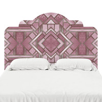 Art Deco City Headboard Decal