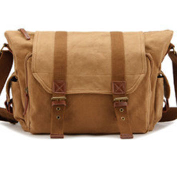 Canvas Camera Bag Water Resistant