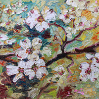 Dogwood Blossoms by Ginette Callaway
