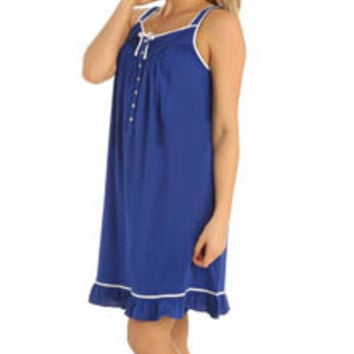 Eileen West 5315940 Enchanting Waves Short Nightgown