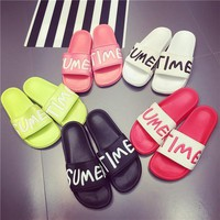 Women Slide-on Home Slippers - flipflops