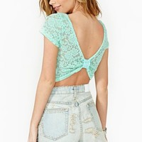 Dulcet Lace Crop Top