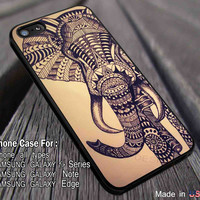 Aztec Elephant Vintage iPhone 6s 6 6s+ 6plus Cases Samsung Galaxy s5 s6 Edge+ NOTE 5 4 3 #art dl2