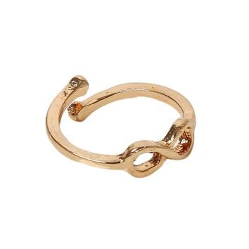 Fashion Number 8 Infinity Symbol Foot Ring Endless Love Symbol Rings For Women