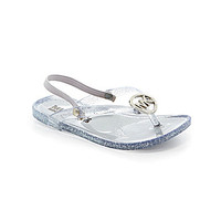 MICHAEL Michael Kors Girls' Trish Glitter Sandals