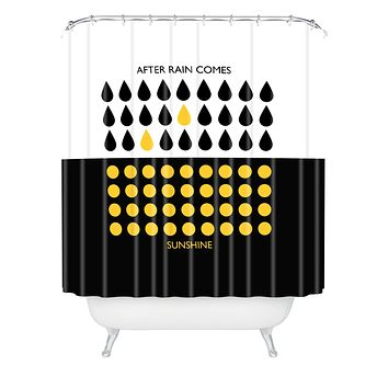 Elisabeth Fredriksson After Rain Comes Sunshine Shower Curtain