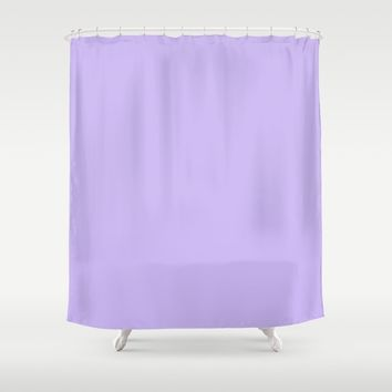 Monochrome collection Purple Shower Curtain by ArtGenerations