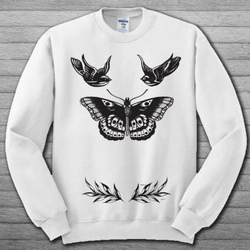 harry styles tattoo Sweatshirt # For Women , Men  Sweatshirt